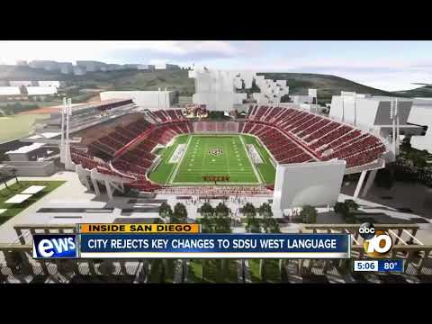 City rejects key changes to SDSU West language