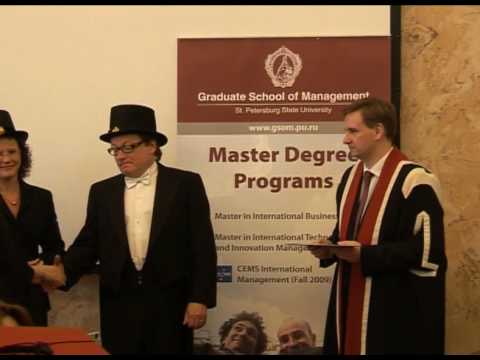 Master Programs 2009 - Graduate School of Management at St. Petersburg State University