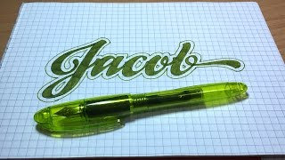 Drawing Names - Jacob