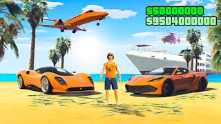 $50,000,000 SUMMER SPECIAL DLC Spending Spree In GTA 5!