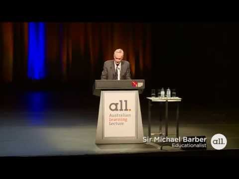 Australian Learning Lecture 2015: Sir Michael Barber (lecture only)