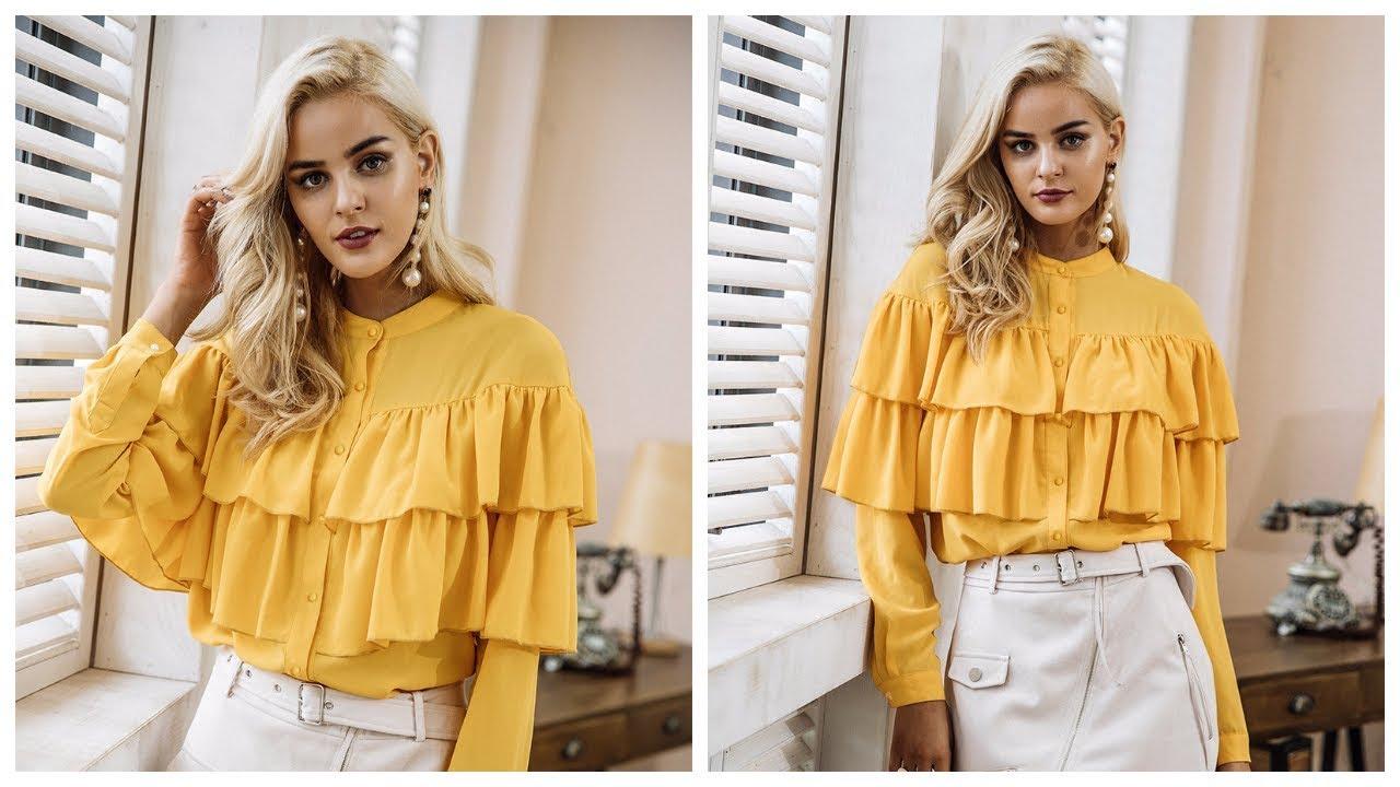 Одежда с AliExpress - Блузка с аппликацией - YouTube