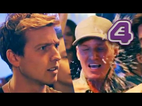 Sam Throws His Drink At Jamie!   Made In Chelsea