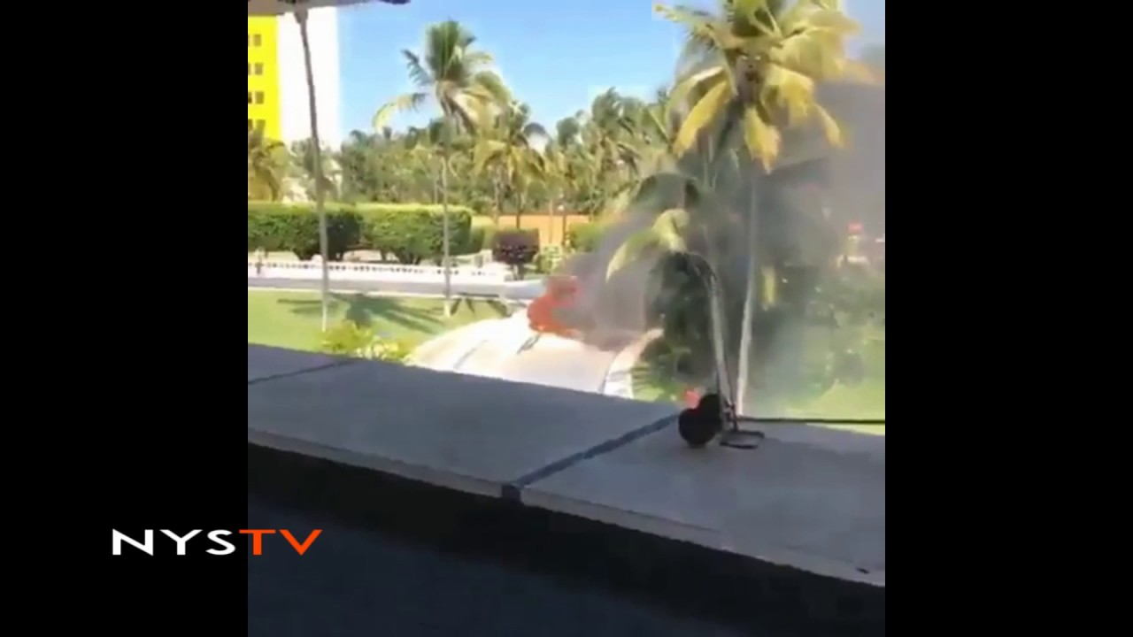 Waka Flocka car caught on fire while in Mexico - YouTube