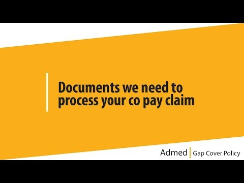 6  Documents we need to process your co pay claim