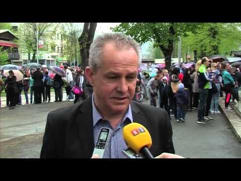 Teslić: ulične trke 9.4.2016.