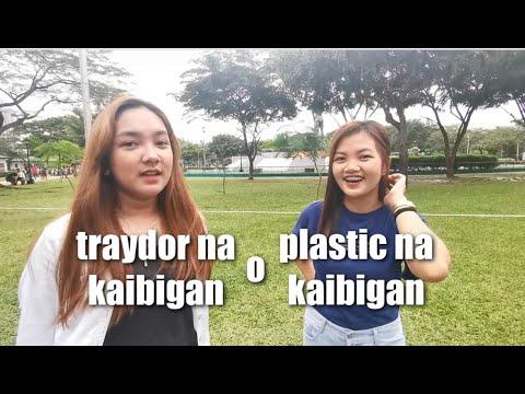 Anung Ayaw Mo ? Traydor Na Kaibigan O Plastic Na Kaibigan .