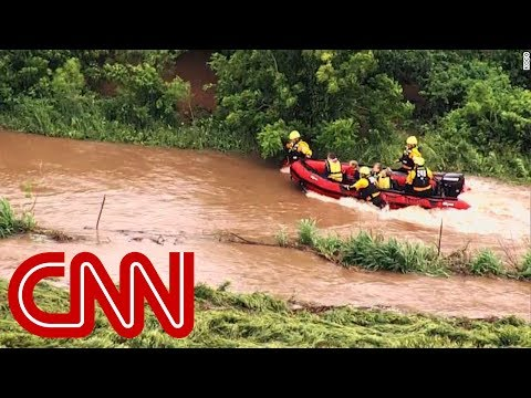 Rescues underway in Oklahoma after tornadoes unleash massive flooding
