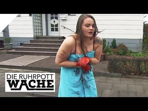 Mädchen nur noch mit Tuch bekleidet: Was ist Schreckliches passiert?   Die Ruhrpottwache   SAT.1 TV