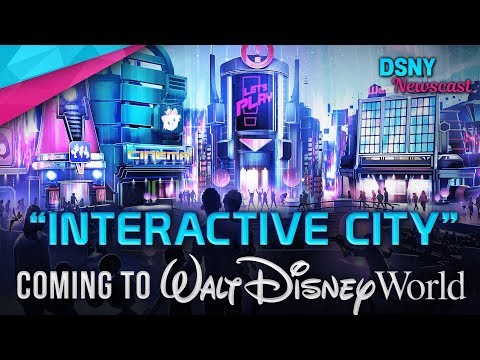 """INTERACTIVE CITY"" Pavilion Coming to Epcot in Walt Disney World - Disney News - 2/21/19"