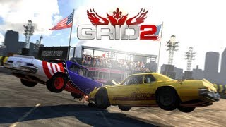 GRID 2 - Demolition Derby - PC Gameplay