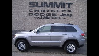 SOLD! 9426 2018 USED JEEP GRAND CHEROKEE LAREDO 4X4 FOND DU LAC $28,499 www.SUMMITAUTO.com