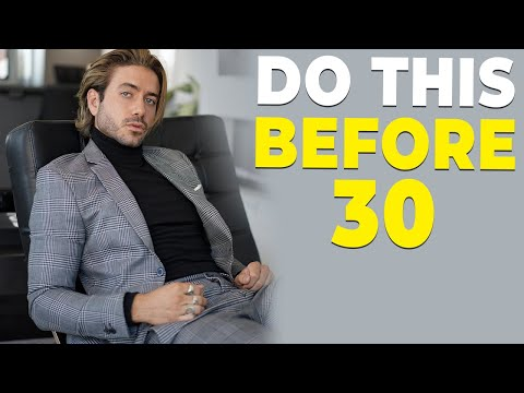 10 THINGS YOU NEED TO DO BEFORE 30 | Alex Costa