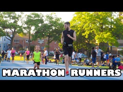 MARATHON RUNNERS!! (8.13.15 - Day 605) daily vlog
