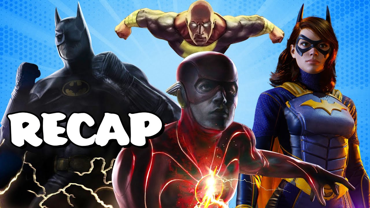 The Best of DC Fandome: Black Adam, The Flash, Multiverse, Gotham Knights