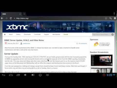 How To Install XBMC 12 On Android Device   MK 808