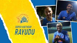 Super Birthday to Namma Baahubali   Super Fam wishing Ambati Rayudu