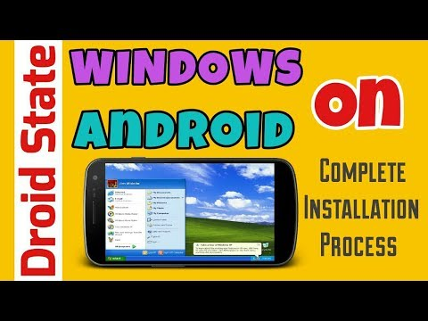 Repeat How to install windows XP on Android using bochs  by