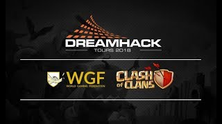 🔴 DREAMHACK TOURS : PHASES FINALES TOURNOI Clash of Clans