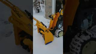 Cub Cadet 3X HD Snow Thrower review. 2017.