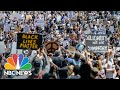 As Crowds Protest Police Violence, Social Distancing Takes A Back Seat   NBC News NOW