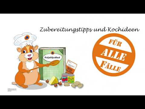 Projekt Notfallkochbuch - Aufruf Zum Rezeptewettbewerb