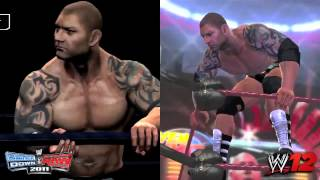 Batista | WWE 12 and SVR 2011 Entrance