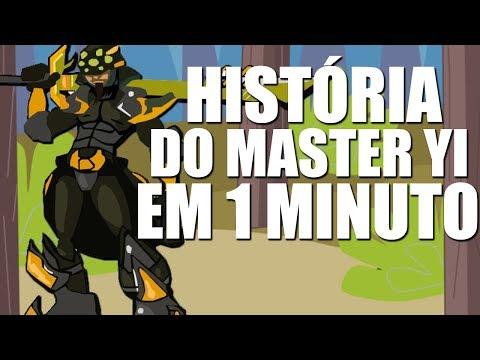 CONTANDO A HISTORIA DO MASTER YI EM 1 MINUTO