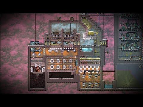 Volcano Power Plant Design Challenge! Part 4 Oxygen Not Included