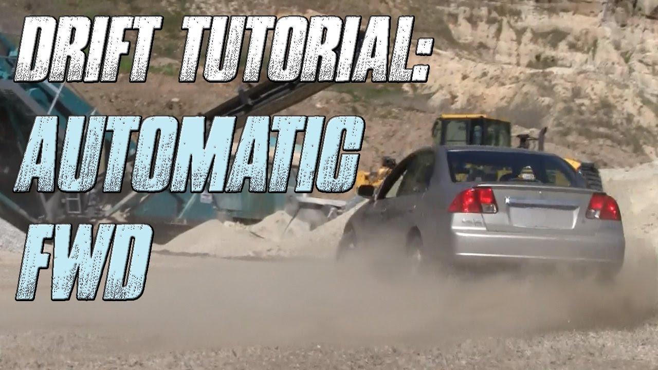 ℹ How To Drift Automatic Front Wheel Drive Car Scandinavian Flick Handbrake