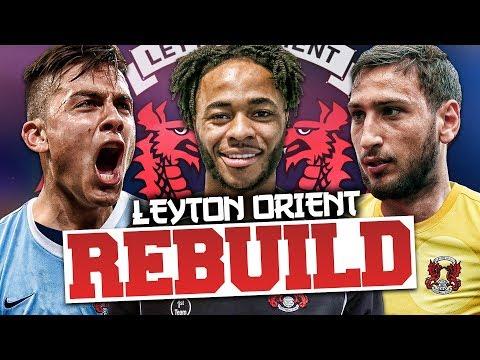 REBUILDING LEYTON ORIENT!!! FIFA 17 Career Mode