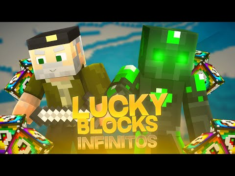 LOS LUCKY BLOCK`S INFINITOS!! - Willyrex vs sTaXx - Carrera épica Lucky Blocks