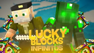 LOS LUCKY BLOCK`S INFINITOS!! - Willyrex vs sTaXx - Carrera épica Lucky Blocks