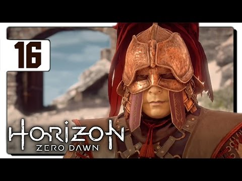 Let's Play Horizon Zero Dawn Blind Part 16 - Carja Border [Horizon Zero Dawn PS4 Gameplay]