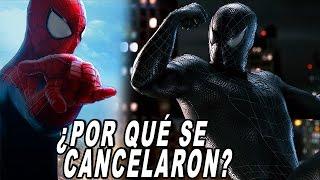 ¿Por qué se cancelaron Spider-Man 4 y The Amazing Spider-Man 3?