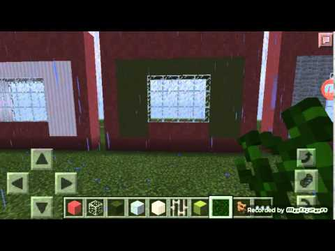 how to make curtains in minecraft pe youtube. Black Bedroom Furniture Sets. Home Design Ideas