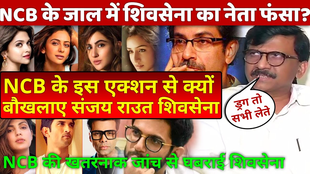 NCB big action exposed Shiv Sena leader Sanjay Raut Uddhav Thackeray Bollywood Karan Johar Deepika