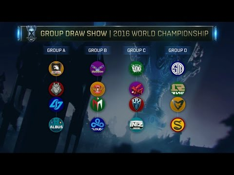 2016 World Championship Groups Revealed, League of Legends S6 Worlds Groups