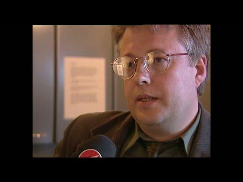 Här varnar succéförfattaren Stieg Larsson för SD - Nyheterna (TV4)