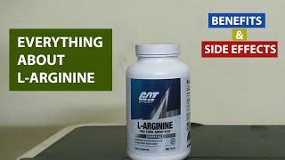 health benefits and side effects - GAT Sport L-arginine.
