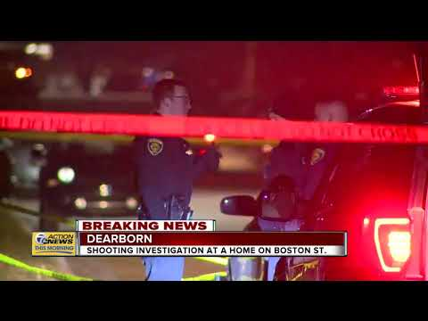 Police Investigating 'love Gone Wrong' Shooting At Home In Dearborn Overnight