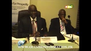 JT RTG DU 22.03.2014. ministres guinéens Kerfalla Yansané et Aliou Diallo en séjour au ...