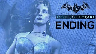 BATMAN ARKHAM ORIGINS - COLD, COLD HEART DLC ENDING + FINAL BOSS FIGHT