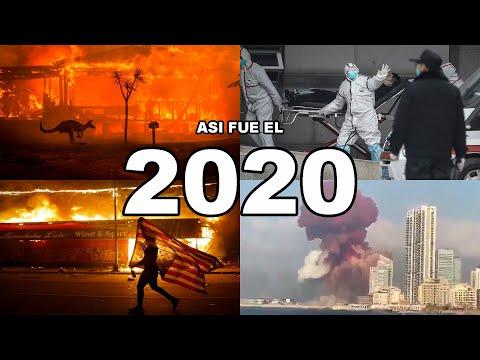 ASÍ FUE EL 2020 IMÁGENES IMPACTANTES