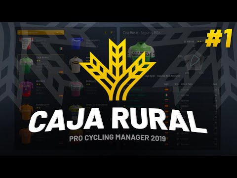 CAREER #1 - Caja Rural On Pro Cycling Manager 2019 / 2020 DB