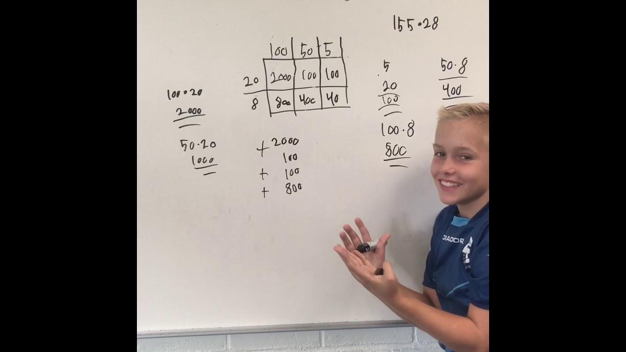 Matematik projekt multiplikation og division