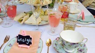 How To.......Host A High Tea