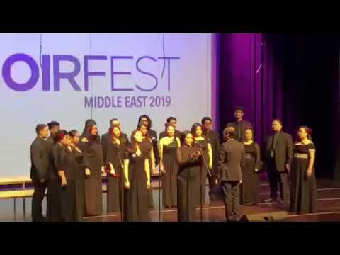 From A Distance - Dubai Camerata Singers CHOIRFEST Middle East 2019 2/3