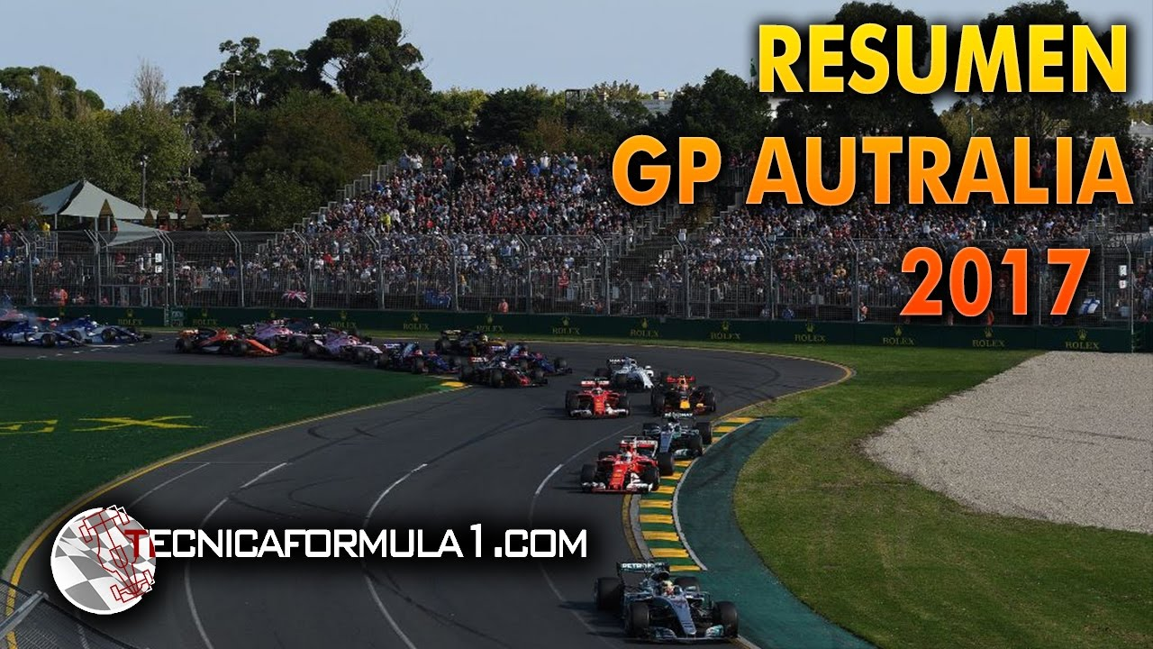 F1 2017 CARRERA GP AUSTRALIA | RESUMEN - YouTube