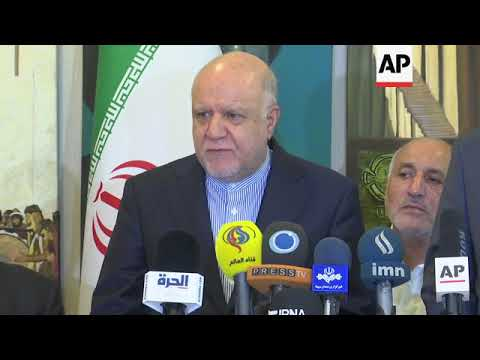 Iraqi and Iranian oil ministers meet in Baghdad